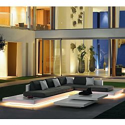 Illuminated Outdoor Sectional