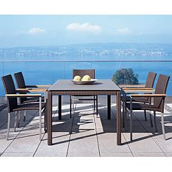 Rausch Mocca Wicker Casual Dining Collection